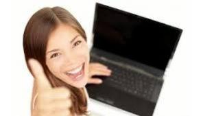mujer-estudiar on-line satisfacción